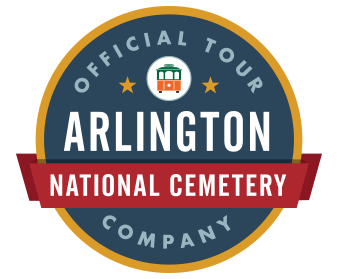 Arlington national cemetery authorized tour logo
