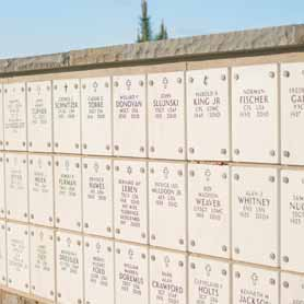 Columbarium Niche Wall at Arlington National Cemetery