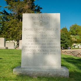 Daniel Chappie James Memorial at Arlington National Cemetery