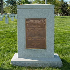 Iran Rescue Mission Memorial at Arlington National Cemetery