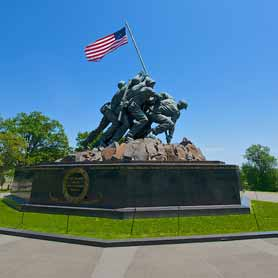 Marine Corps War Memorial at Arlington National Cemetery