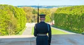 Tomb Guard at Arlington National Cemetery