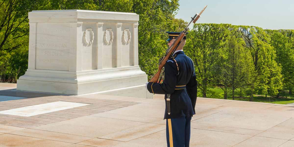 Tomb Guard at the Tomb of the Unknown Soldier