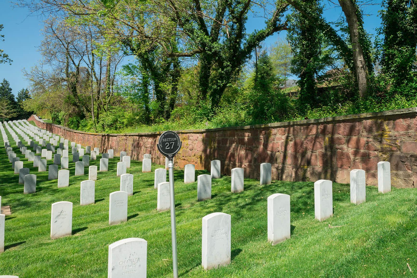 Arlington National Cemetery Section 27