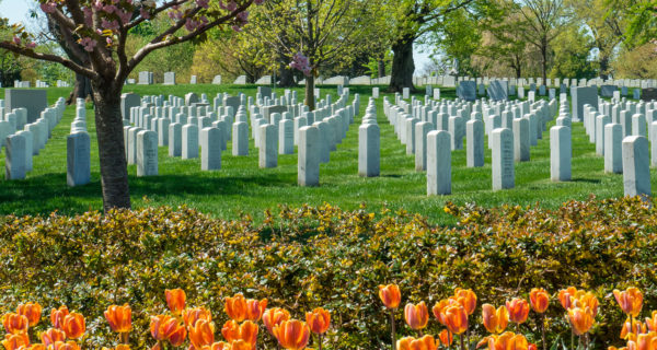 Learn about the First Military burials at Arlington