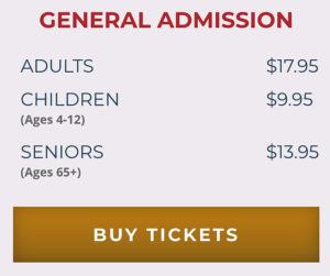 Arlington Tours general admission tickets