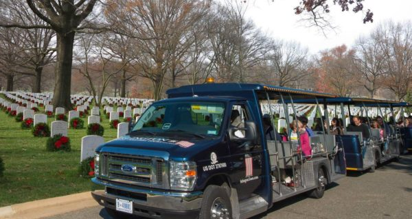 Wreaths Across America at Arlington tours