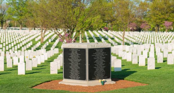 pentagon memorial at arlington cemetery